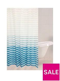sabichi-azul-stripe-shower-curtain
