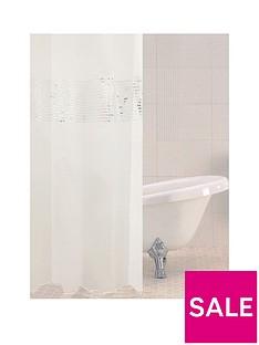 sabichi-vegas-white-shower-curtain