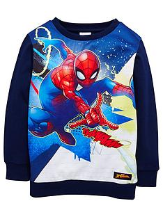 spiderman-boys-sweat-top