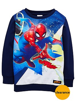 spiderman-boys-sweat-top