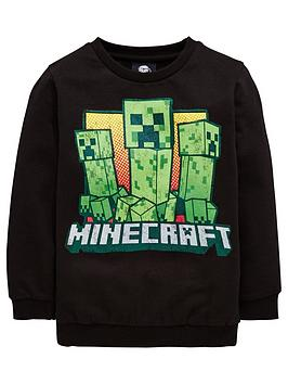 minecraft-boys-creeper-sweat-top