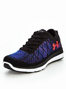 under armour boxing shoes. under armour threadborne fortis 3 - black/blue under armour boxing shoes