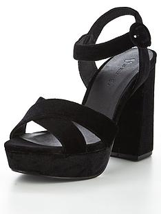v-by-very-chance-velvet-platform-heeled-sandal-black