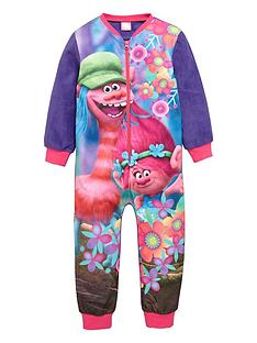 dreamworks-trolls-girls-fleece-sleepsuit
