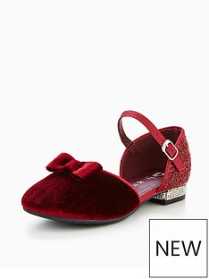 mini-v-by-very-georgia-velvet-low-heel-shoe