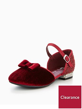 mini-v-by-very-georgia-velvet-low-heel-shoe