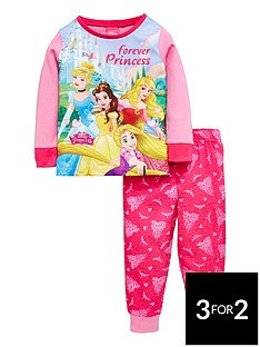 disney-princess-girls-pyjamas
