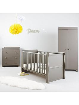 little-acorns-sleigh-cot-bed-grey