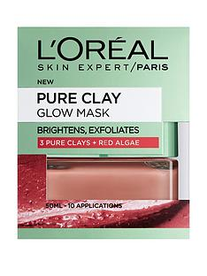 loreal-paris-pure-clay-glow-mask-50ml