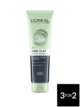 loreal-paris-l039oreal-paris-pure-clay-foam-wash-detox-150ml
