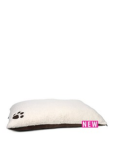 petface-paws-for-snores-memory-foam-pillow-mattress