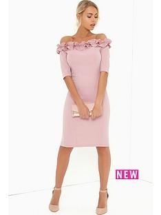 paper-dolls-paper-dolls-rose-ruffle-bodycon-dress