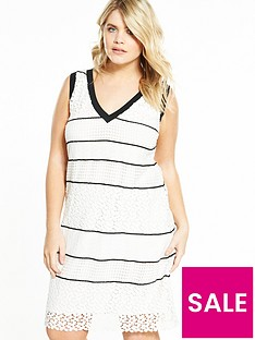 elvi-curve-monochrome-lace-dress