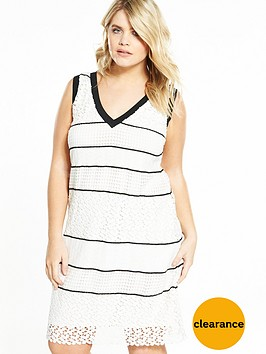 elvi-curve-monochrome-lace-dress