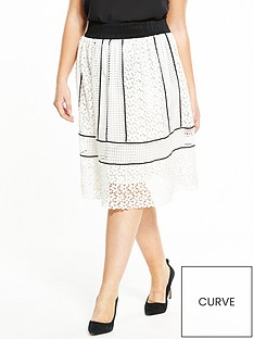 elvi-curve-monochrome-lace-skirt