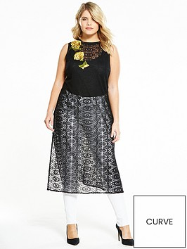 elvi-curve-lace-longline-top-with-floral-embroidery