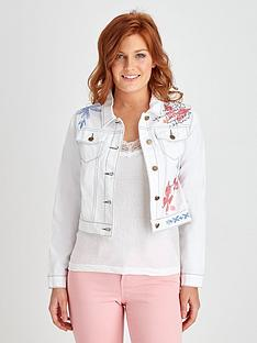 joe-browns-joe-browns-fitted-embroidered-denim-jacket