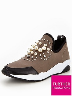 v-by-very-bounce-pearl-trainer-silver
