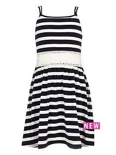 river-island-girls-navy-stripe-crochet-dress