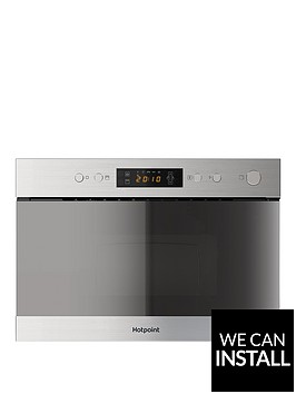 hotpoint-class-3-mn314ixh-60cm-built-in-microwave-with-grill-and-optional-installation-stainless-steel