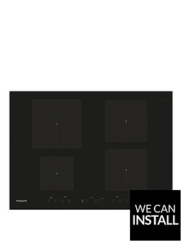 hotpoint-newstylenbspcid740b-70cm-built-in-induction-hob-with-optional-installation--nbspblack