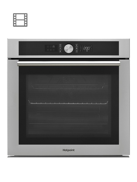 hotpoint-class-4nbspsi4854hix-60cm-built-in-electric-single-ovennbsp-nbspstainless-steel