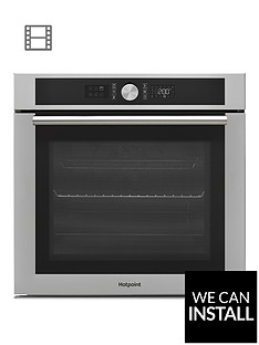 hotpoint-si4854hix-60cm-built-in-electric-single-oven-with-optional-installation--nbspstainless-steel