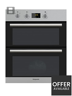 hotpoint-class-2-du2540ix-60cmnbspbuilt-under-double-electric-ovennbsp--stainless-steel