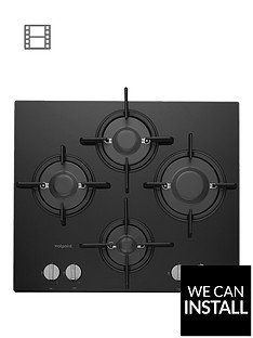 hotpoint-ftghg641dhbk-60cm-built-in-gas-hob-with-fsdnbspand-optional-installation-black
