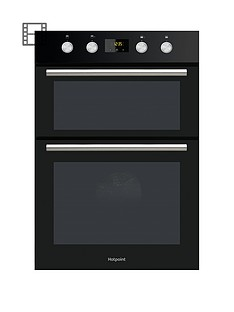 hotpoint-class-2-dd2844cbl-60cmnbspbuilt-in-double-electric-oven-with-optional-installation-black