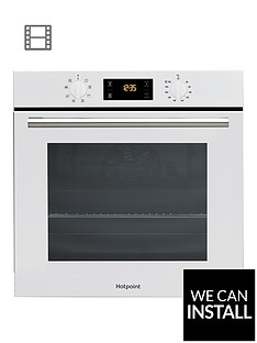 hotpoint-sa2540hwh-60cm-built-in-single-electric-oven-with-optional-installation-white