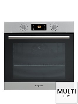 hotpoint-class-2-sa2540hix-60cm-built-in-electric-single-oven-with-optional-installationnbsp--stainless-steel
