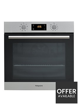 hotpoint-class-2-sa2540hix-60cm-built-in-electric-single-ovennbsp--stainless-steel