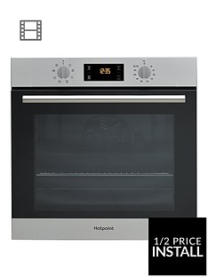 hotpoint-sa2540hix-60cm-built-in-single-oven-stainless-steel