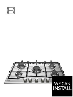 hotpoint-pcn752uixhnbsp75cmnbspbuilt-in-gas-hob-with-optional-installation-stainless-steel