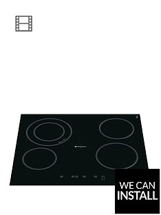 hotpoint-cra641dc-built-in-4-zone-ceramic-hob-with-optional-installation-black