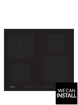hotpoint-cia640c-60cm-built-in-induction-hob-with-optional-installationnbsp--black