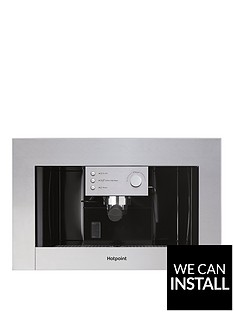 hotpoint-cm5038ixh-60cm-built-in-coffee-machine-with-optional-installation-stainless-steel