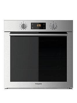 Hotpoint Sa4544Hix 60Cm Built In Electric Single Oven - Stainless Steel - Oven With Installation Review thumbnail