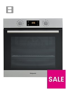 hotpoint-class-2-sa2840pix-60cm-built-in-electric-single-oven-with-optional-installation--nbspstainless-steel