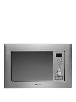Hotpoint Mwh122.1X Built-In Microwave Oven With Grill And Optional Installation - Stainless Steel - Microwave With Installation Review thumbnail