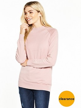 v-by-very-pearl-embellished-turtleneck-jumper