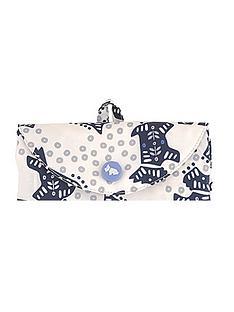 radley-folk-dog-ivory-foldaway-bag