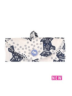 radley-folk-dog-ivory-foldaway-bag