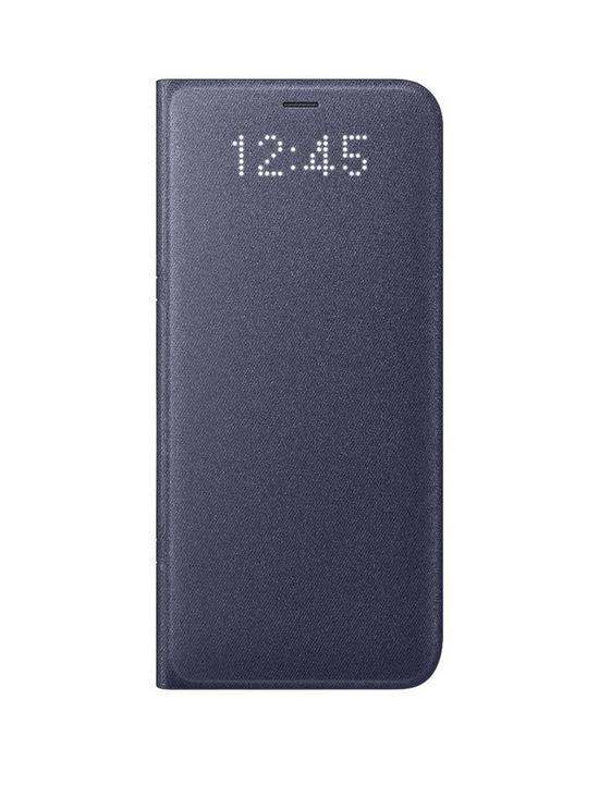 buy online e00fb 3829d Galaxy S8 LED Cover Case - Violet