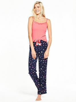 Photo of V by very to the moon and back cami pyjama set