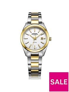 rotary-havana-white-date-dial-two-tone-bracelet-ladies-watch