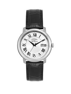 rotary-silver-tone-date-dial-black-leather-strap-mens-watch