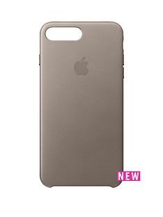 apple-iphone-7-plus-leather-case-taupe