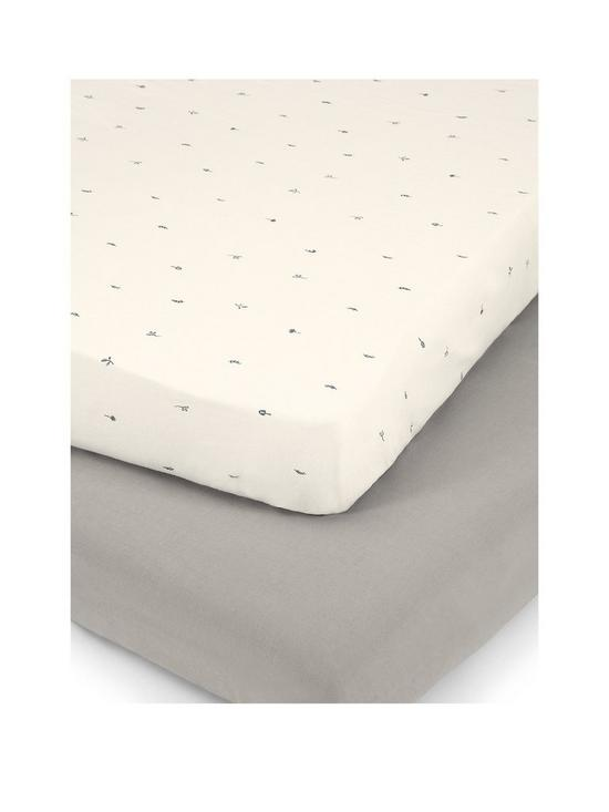 Charmant Mamas U0026 Papas Nestling 2 Fitted Cot Bed Sheets | Very.co.uk